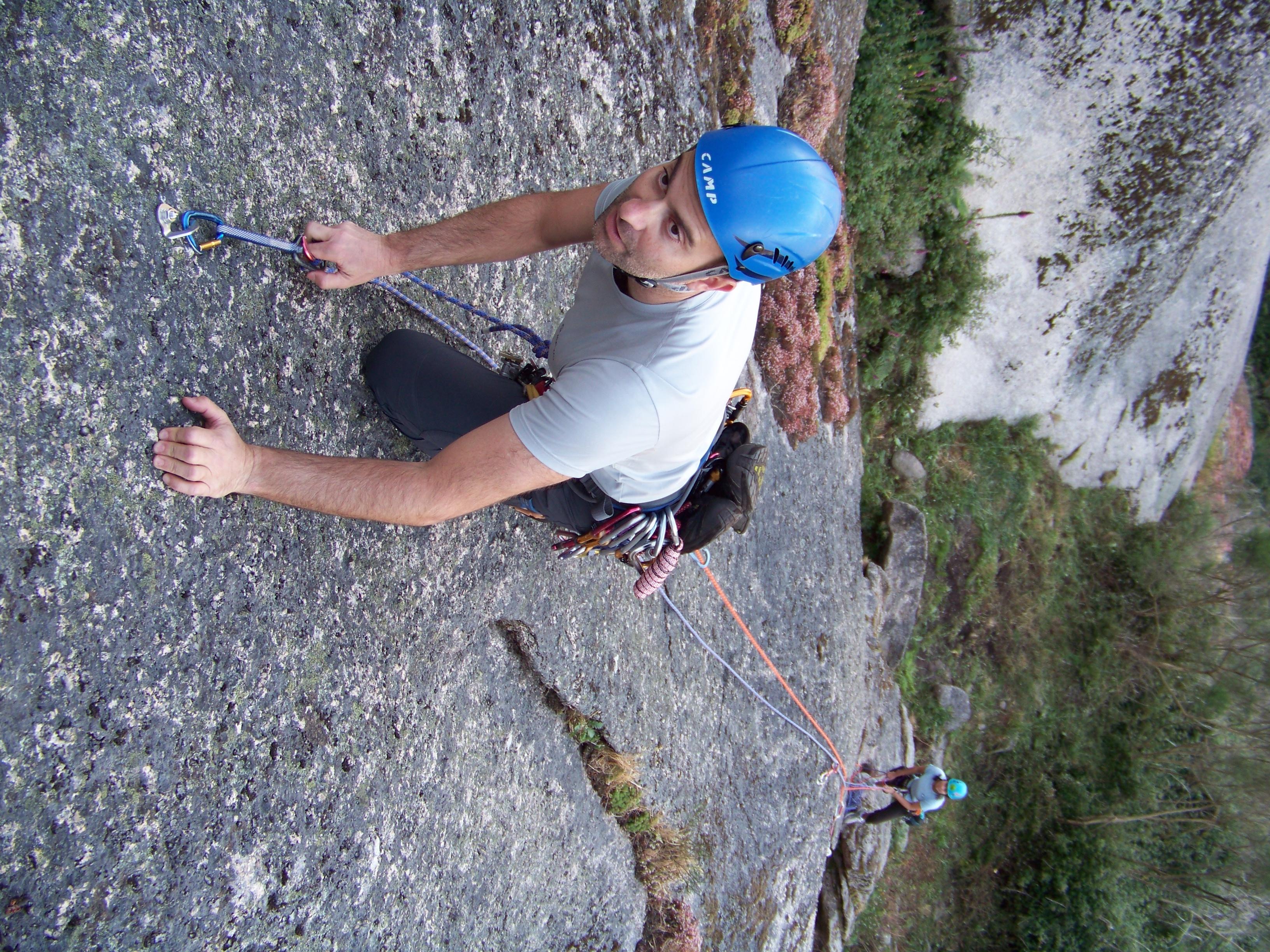 Escola de escalada en rocha