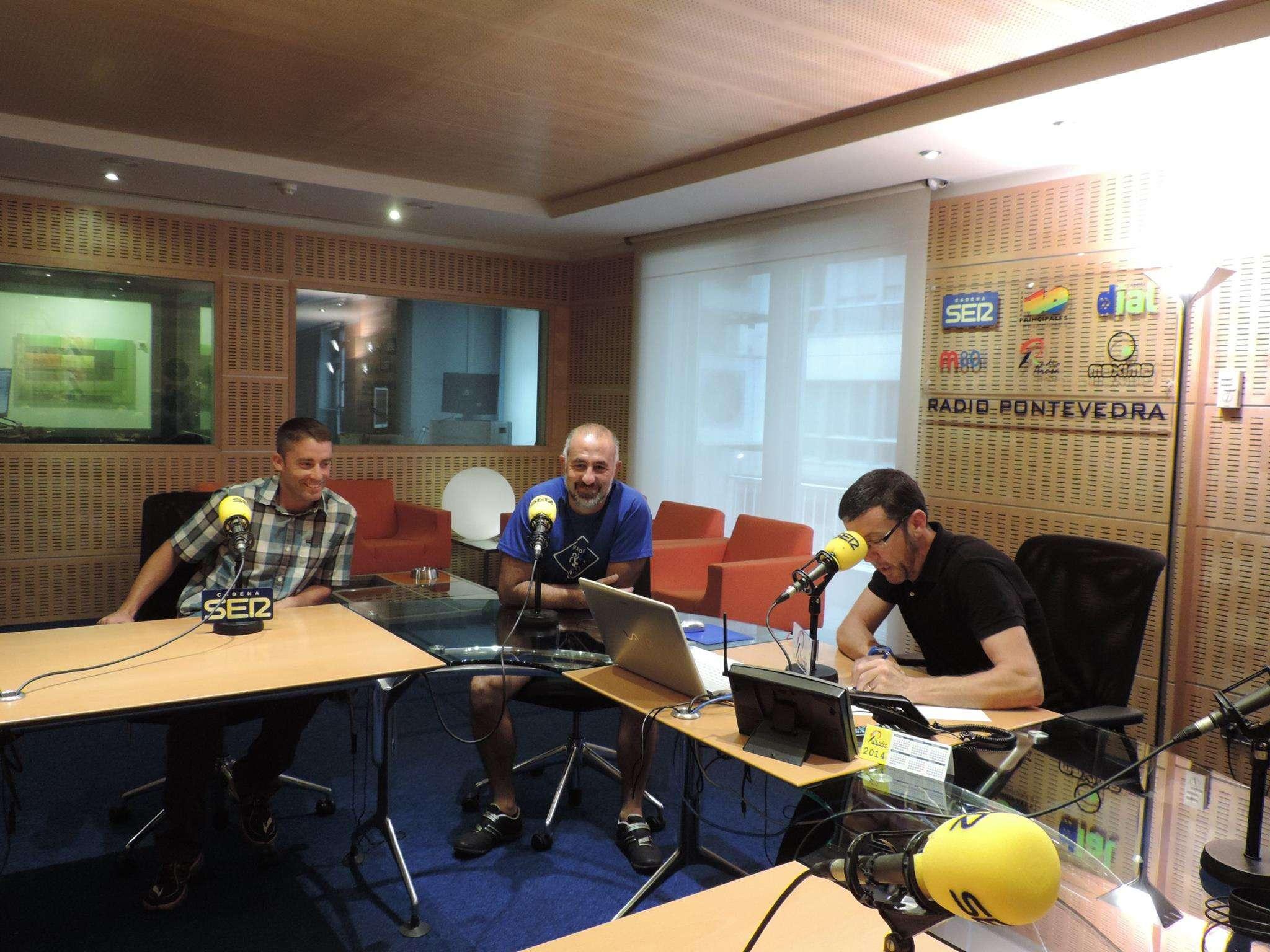 Entrevista en Radio Pontevedra