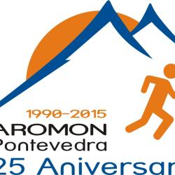 2015 Logo AROMON 25_aniversario_laranxa