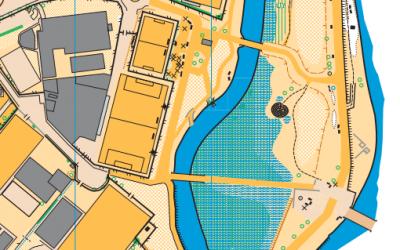 Mapas de orientación antiguos de la zona de Pontevedra