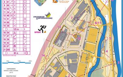 Mapas Campeonato Ibérico Femenino de Orientación 2015