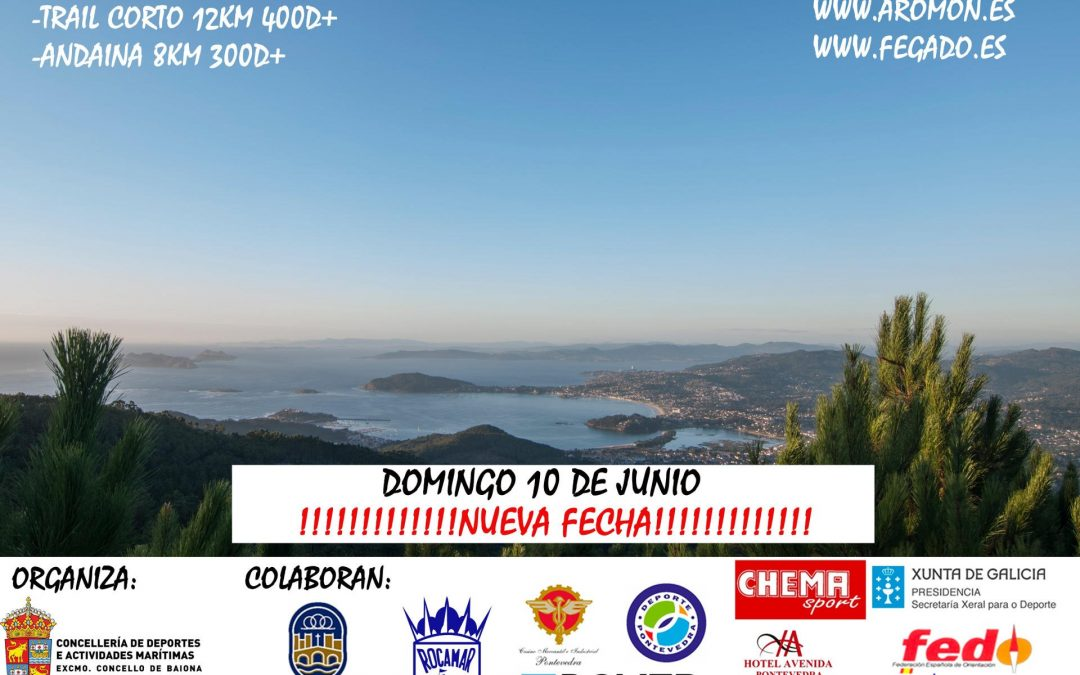 Nueva fecha Trail Baiona