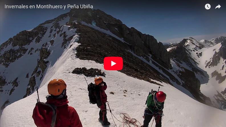 Vídeo de invernales en Montihuero y Peña Ubiña