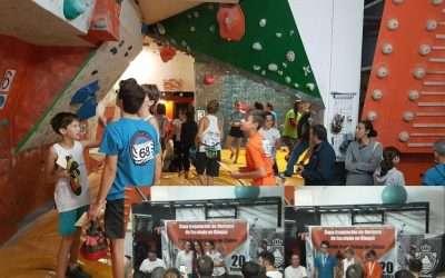 Copa gallega de escalada en bloque