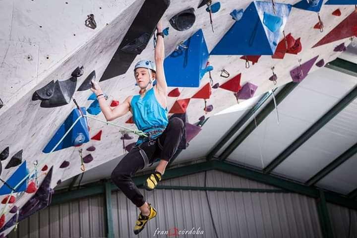 Recoñecemento ao noso socio escalador Xavi Carballo