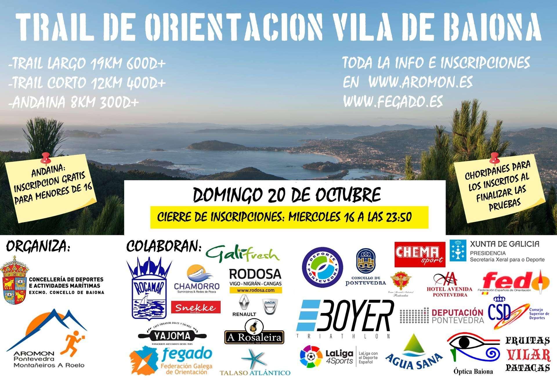 Nova data trail de Baiona