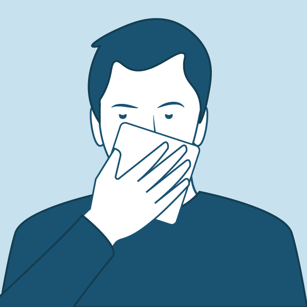 toser protexendo aos demais