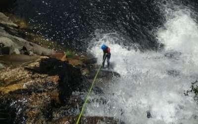 Descenso do río Pedras